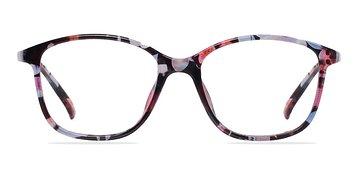 Red/Floral Saint Lou -  Fashion Plastic Eyeglasses