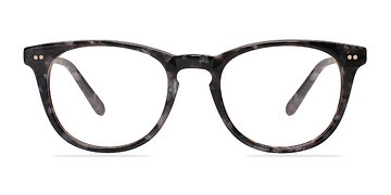 Gray/Floral Flume -  Classic Acetate Eyeglasses