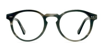 Striped Granite Theory -  Geek Acetate Eyeglasses