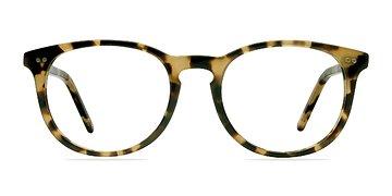 Havana Tortoise Aura -  Designer Acetate Eyeglasses