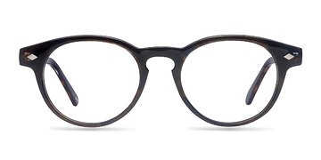 Navy Floral Concept -  Fashion Acetate Eyeglasses