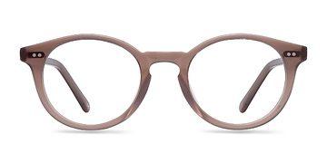 Translucent Smoked Taupe Fade -  Fashion Acetate Eyeglasses