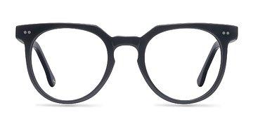 Jet Black Atmosphere -  Geek Acetate Eyeglasses