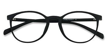 Matte Black Dinah -  Fashion Plastic Eyeglasses
