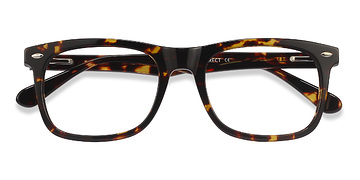 Tortoise Sam M -  Geek Acetate Eyeglasses