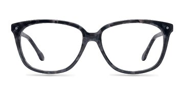 Gray Floral Escapee S -  Fashion Acetate Eyeglasses