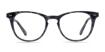 Gray Floral Flume M -  Fashion Acetate Eyeglasses
