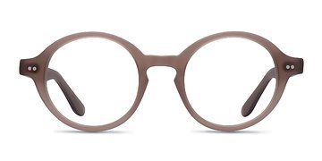 Matte Brown Aprem -  Acetate Eyeglasses