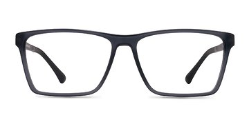 Matte Gray Equation -  Plastic Eyeglasses