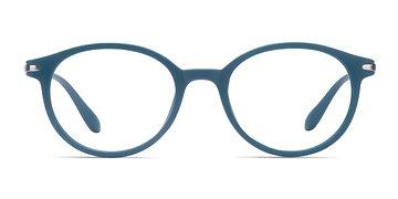 Matte Green Indigo -  Plastic Eyeglasses
