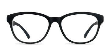Matte Black Caroline -  Plastic Eyeglasses