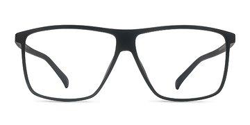 Matte Black  Deluxe -  Plastic Eyeglasses
