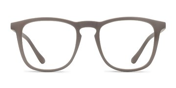 Light Brown  Central -  Plastic Eyeglasses