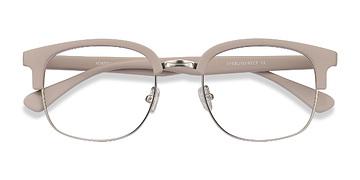 Matte Gray Yokote -  Metal Eyeglasses