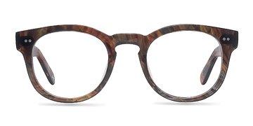 Marbled Hazel Eloquence -  Designer Acetate Eyeglasses