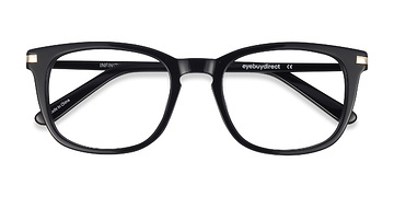 Black Infinity -  Geek Acetate Eyeglasses