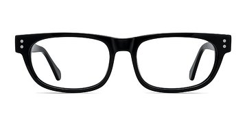 Black Oslo -  Acetate Eyeglasses