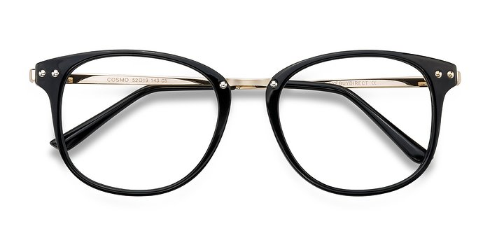Black Cosmo -  Metal Eyeglasses