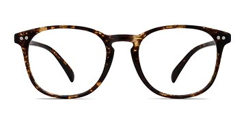 Floral Record -  Plastic Eyeglasses