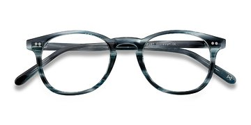 Ocean Tide Symmetry -  Vintage Acetate Eyeglasses