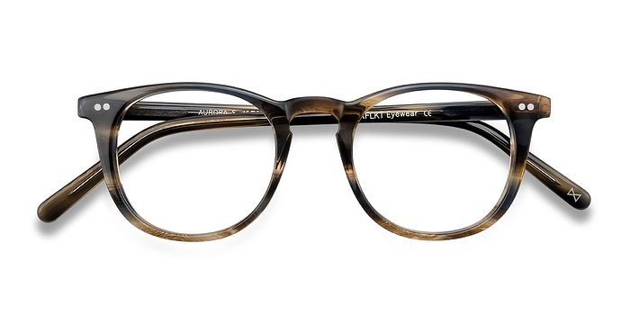 Tiger's Eye Aurora -  Acetate Eyeglasses