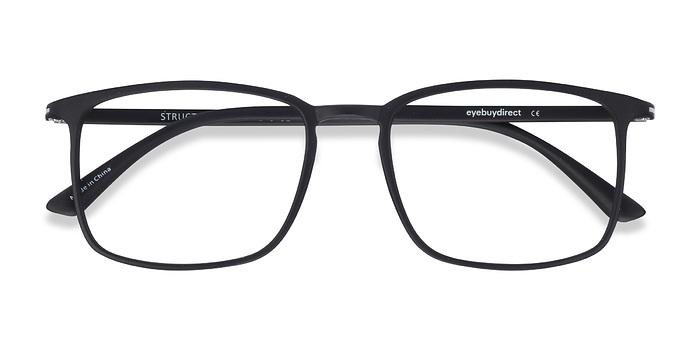 Black Structure -  Plastic Eyeglasses