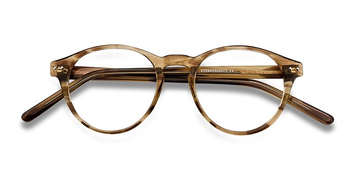 Brown striped Method -  Acetate Eyeglasses