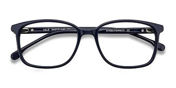 Dark Navy Vale -  Acetate Eyeglasses
