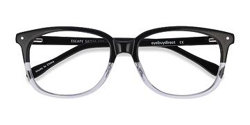 Black Escape -  Classic Acetate Eyeglasses