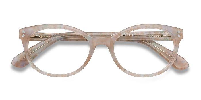 Pink Floral Valentina -  Acetate Eyeglasses