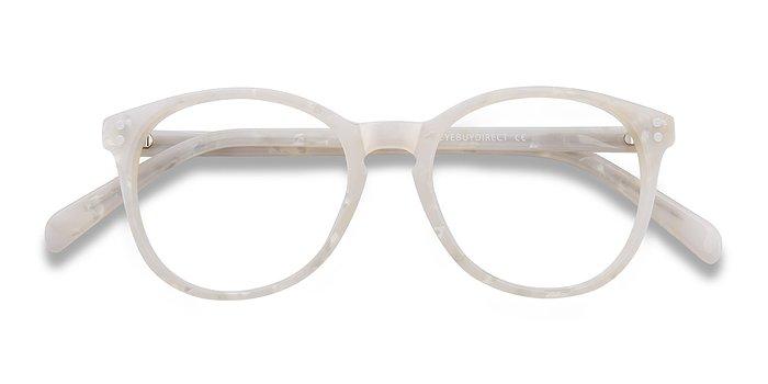 Pearly White Pride -  Acetate Eyeglasses