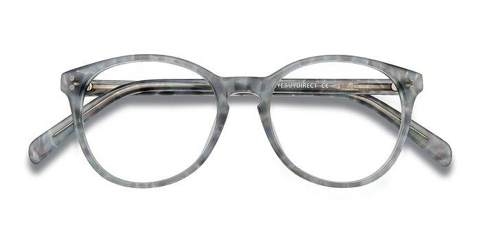 Gray Floral Pride -  Acetate Eyeglasses