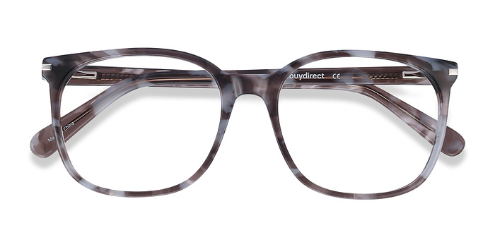Gray Floral Absolutely -  Acetate Eyeglasses