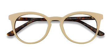White Floral Griffin -  Acetate Eyeglasses