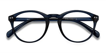 Navy Revolution -  Plastic Eyeglasses