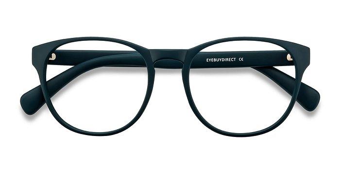 Matte Green Heartbeat -  Plastic Eyeglasses