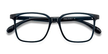 Navy Blocks -  Plastic Eyeglasses