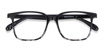 Black Clear Blocks -  Plastic Eyeglasses