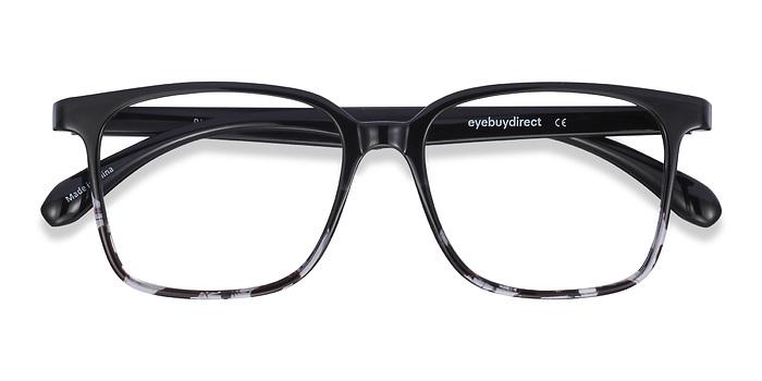 Black Clear Blocks -  Plastic Eyeglasses