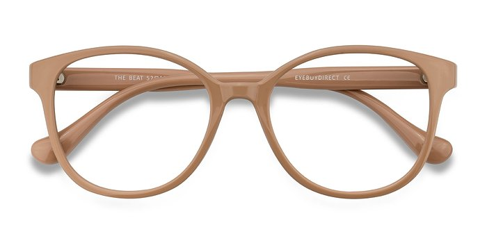 Light Pink The Beat -  Plastic Eyeglasses