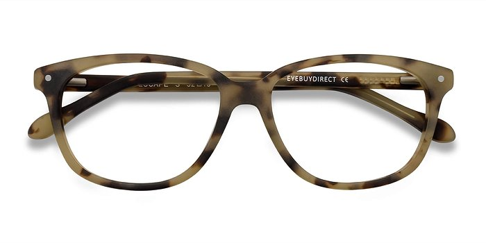 Matte Tortoise Escape -  Acetate Eyeglasses