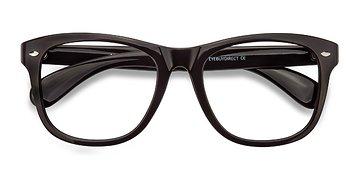 Purple Myrtle -  Vintage Plastic Eyeglasses