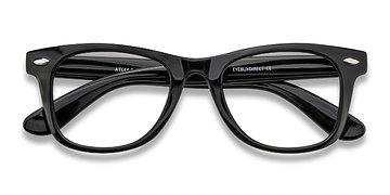 Black Atlee -  Plastic Eyeglasses