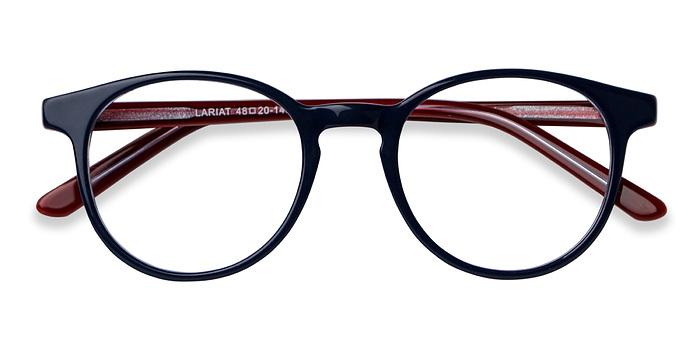 Navy Lariat -  Acetate Eyeglasses