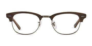 Brown Sweet Jane -  Fashion Wood Texture Eyeglasses