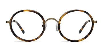 Tortoise Gemini -  Designer Acetate Eyeglasses