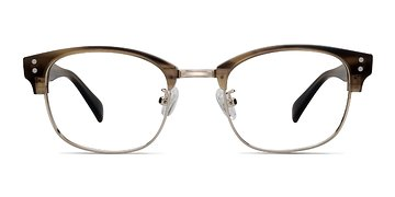 Brown Look Up -  Designer Acetate Eyeglasses