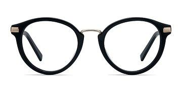 Black Yuke -  Acetate Eyeglasses