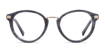 Dark Gray Yuke -  Acetate Eyeglasses