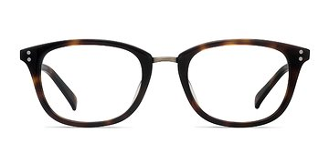 Tortoise Synopsis -  Designer Acetate Eyeglasses